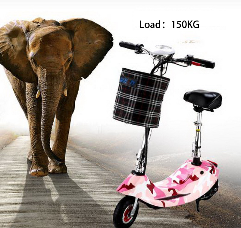 Sale 261002/Ladies portable mini dolphin electric scooter / can carry children electric bikes / electric cars/Comfortable cushion 3