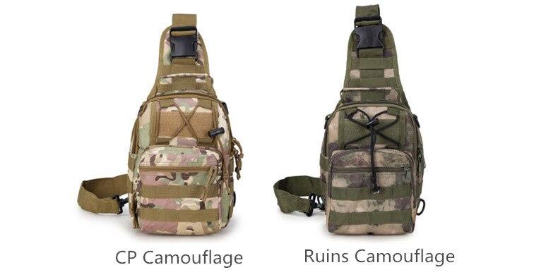 Sac à dos Nylon imperméable Camouflage