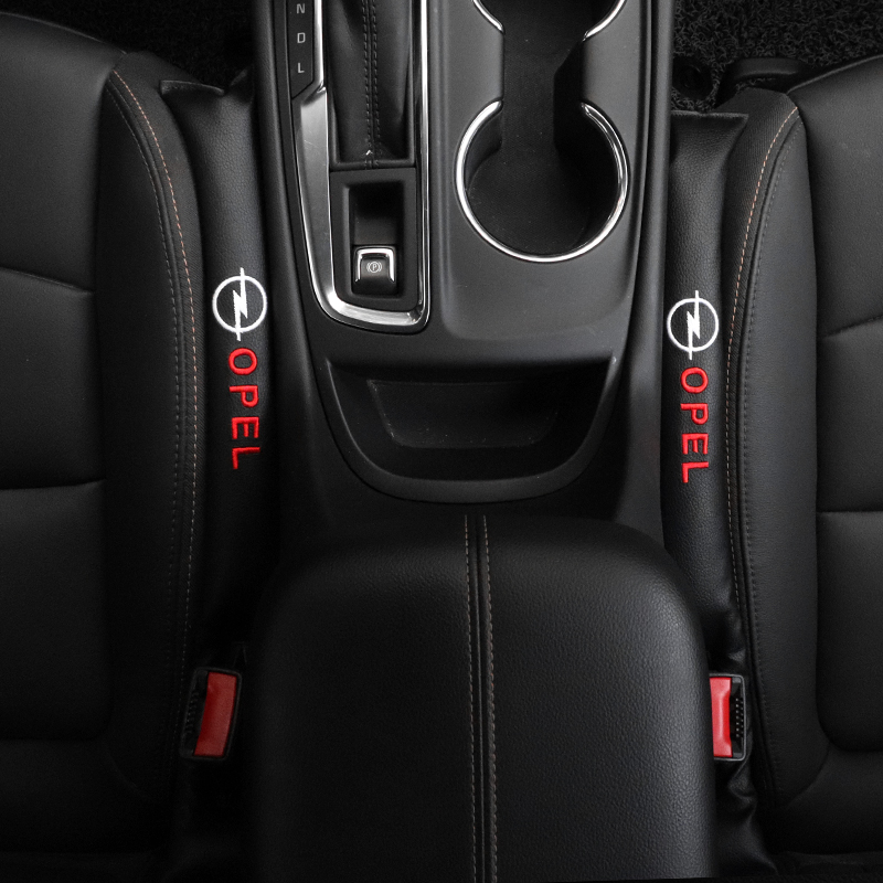 2X Seat Gap Filler Soft Pad Padding Spacer Accessories For Opel Insignia Zafira B Vectra C B Mokka Vectra Astra H G J Corsa D