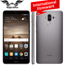 International Firmware Huawei Mate 9 Mobile Phone 4G LTE Octa Core 4GB RAM 64GB ROM 5.9″ Android 7.0 Fingerprint ID Dual Camera