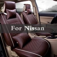 Car Pass Artificial Leather Auto Seat Covers Automotive Seat Pad For Nissan Teana Terrano Tiida Versa