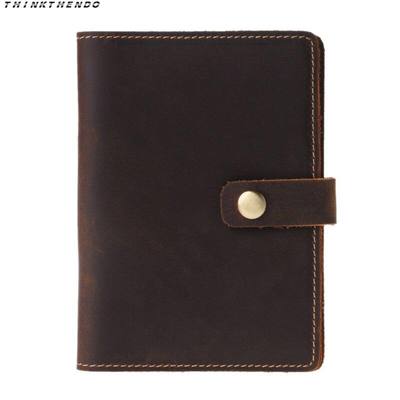 THINKTHENDO Fashion Men Women Travel Vintage Passport ID Credit Card Cover Multifunction Holder Case Protector Organizer Hot New