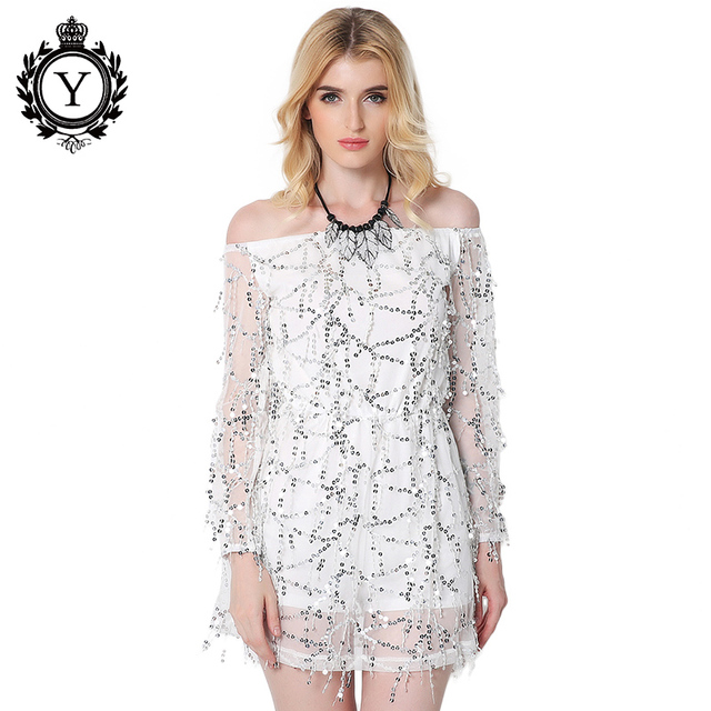 Coutudi 2017 nieuwe collectie jurken vrouwen party sequin dress chiffon lange mouw lente herfst jurken china vrouwen goedkope kleding