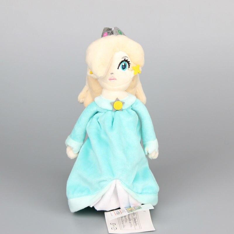 "Dropshipping Super Mario Princess Rosalina Plush Toy With Tag Soft Stuffed Dolls 8"" 20 CM"