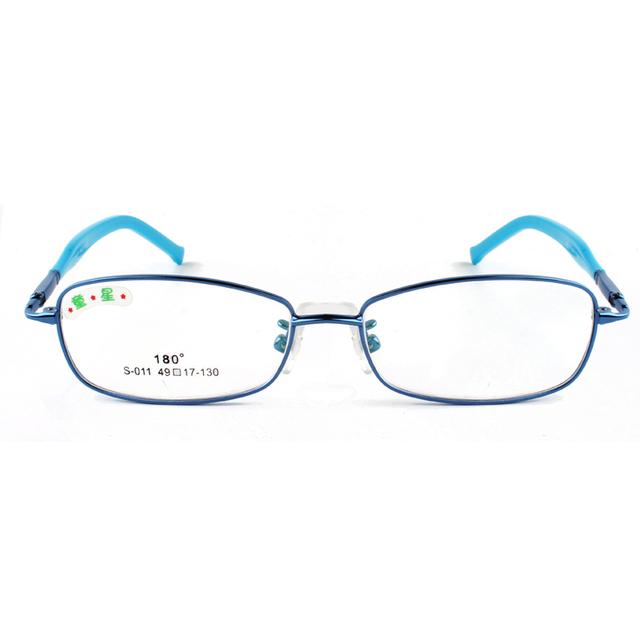 Chashma Crianças Óculos De Armação de Moda Menina e Meninos Cores Vidros do Olho Óculos de Armação Rosa Roxo Azul Vermelho Prata