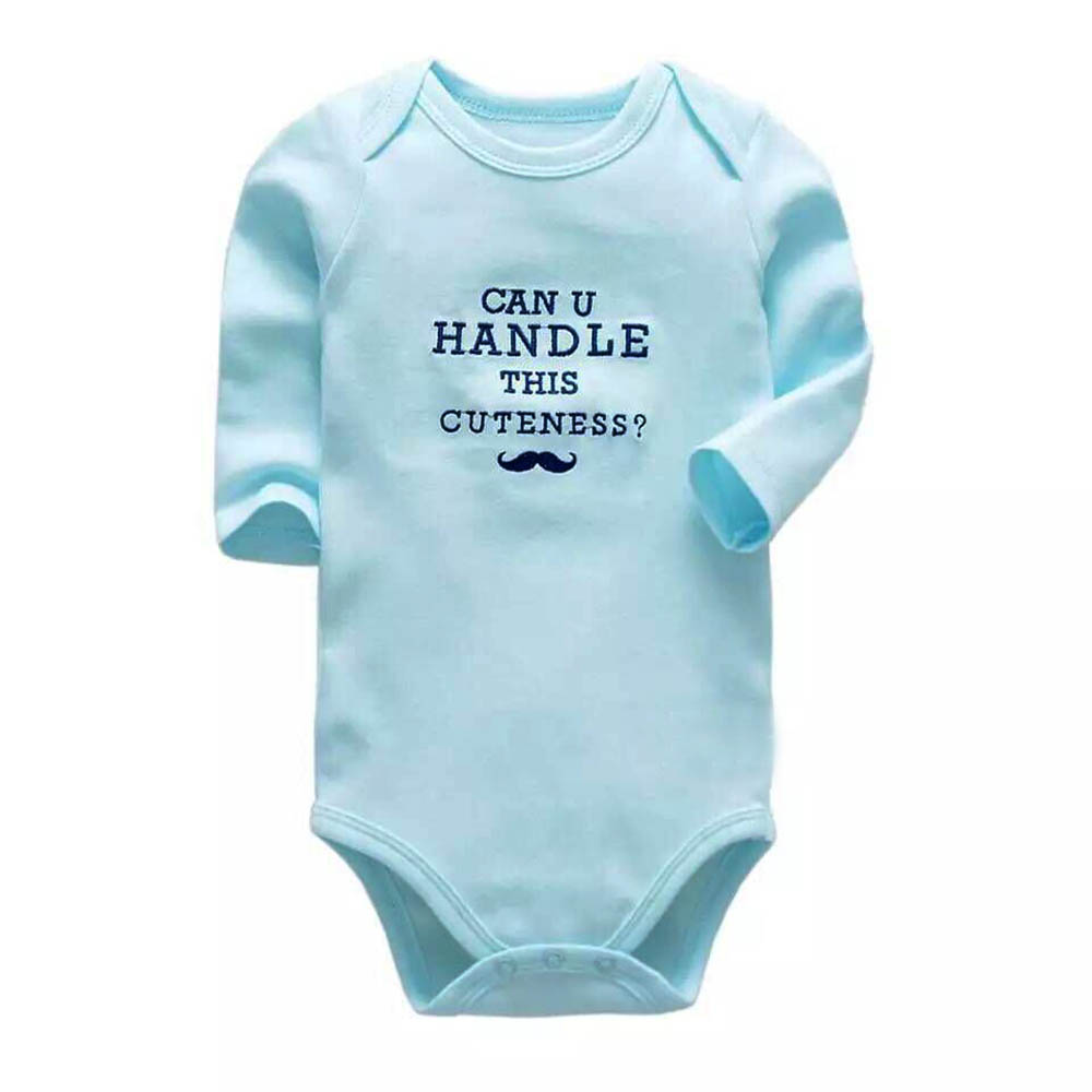 Baby Bodysuit Newborn Babies Clothes Long Sleeve 3 6 9 12 18 24 Months Baby Clothing