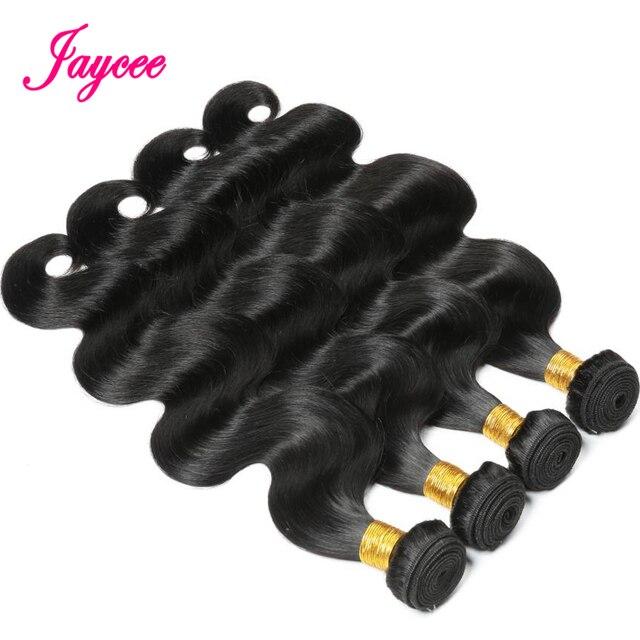Paquetes de pelo humano de Jaycee paquetes de cabello peruano paquetes de extensiones de cabello Remy paquetes de extensiones de cabello 3 o 4 paquetes pueden comprar