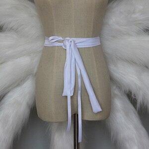 Image 5 - Coshome LOL Ahri Cosplay תלבושות סקסי זנבות שועל תשע זנב משודרג להפוך דגם בפלאש זנב 85CM