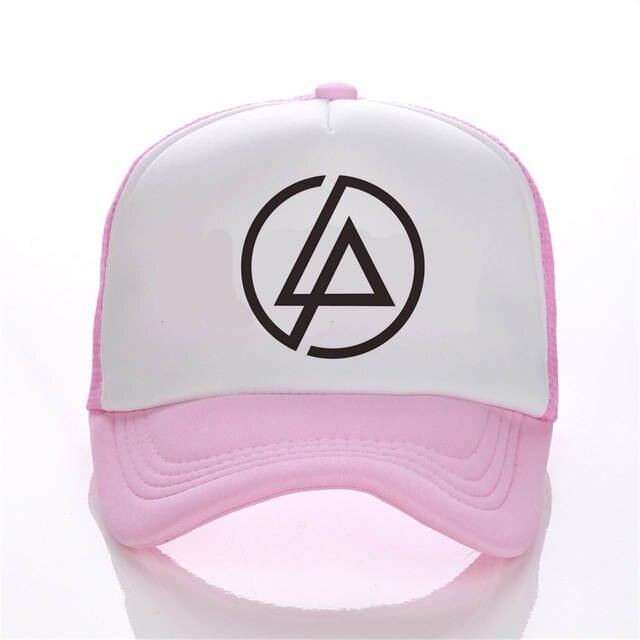 69647c7466d placeholder linkin park Snapback mesh baseball trucker cap men net cap hip  hop Visor Sunbonnet Loves hat