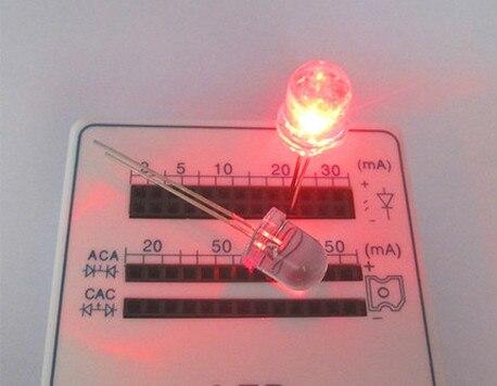 500Pcs F5 5Mm Warm White Round Super Bright Led Light Led Lamp mq