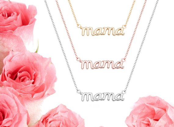 mama mom mother Mothers Necklace, Mother's Day Necklace, Mama Necklace, Mothers Day Gift