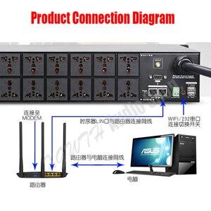 Image 5 - Pro karaoke sistema de som de áudio dj 16 canais wifi filtro multi função controlador de seqüência de energia fonte controlador de sincronismo