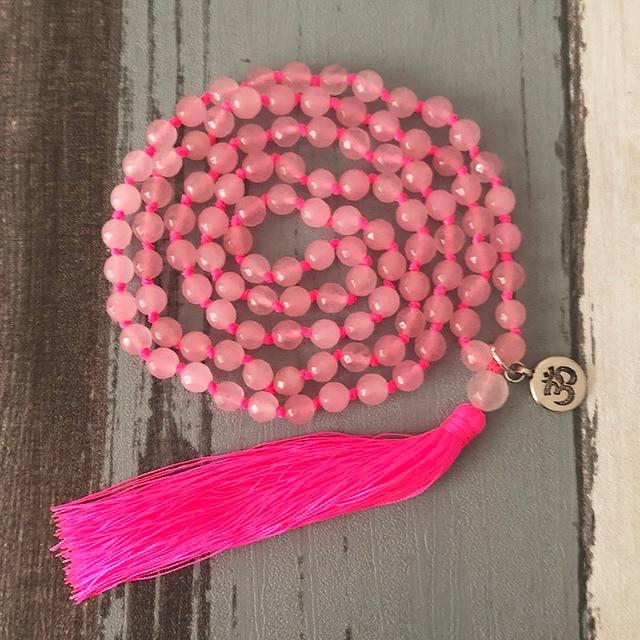 Sweet Pink Tassel Necklace...