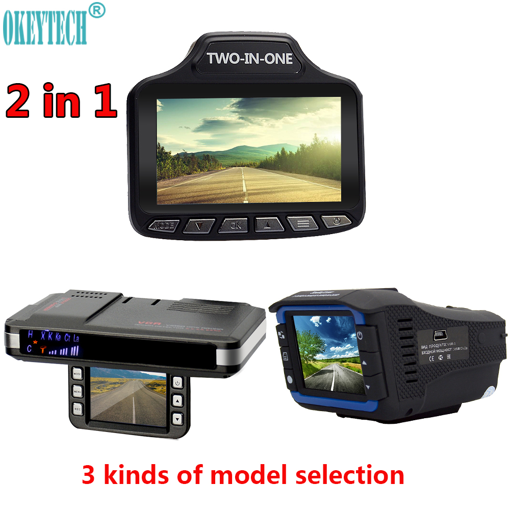 OkeyTech Best 2 In 1 Anti Laser Car Radar Detector G sensor DVR font b Camera