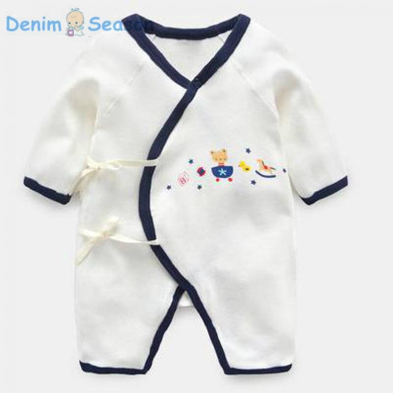 DenimSeason 2018 Baby Boy Romper Baby Jumpsuit Baby Onesie Baby Clothes Newborn Clothes Baby Rompers Newborn Costume Cute