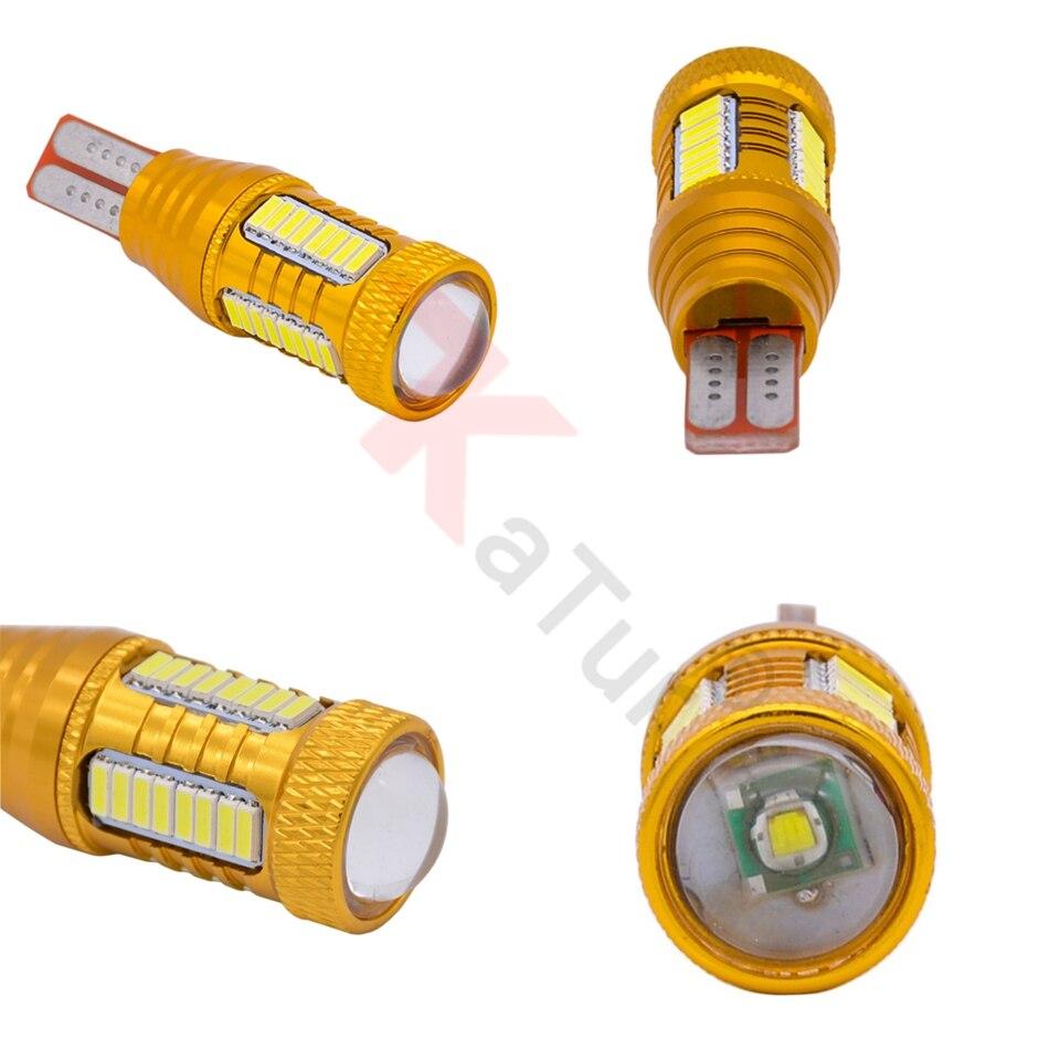 Katur 2 pcs T15 W16W Led Lampu Untuk Mobil 4014 32smd + 1smd Canbus - Lampu mobil - Foto 3