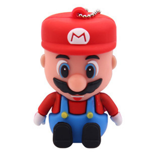 Cartoon Super Mario Usb Flash Drive Pen Drive 8GB 16GB 32GB 64GB Flash Memory Real Capacity Pendrive Stick Card 128GB 512GB
