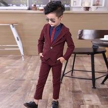 Новинка весны 2019 костюмы для маленьких мальчиков блейзеры