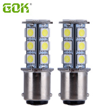 2pcs 1142 BA15D 18 SMD 5050 led 1157 1156 Tail Turn Signal lamp White car bulbs rear brake Lights Led Yacht Light 12V