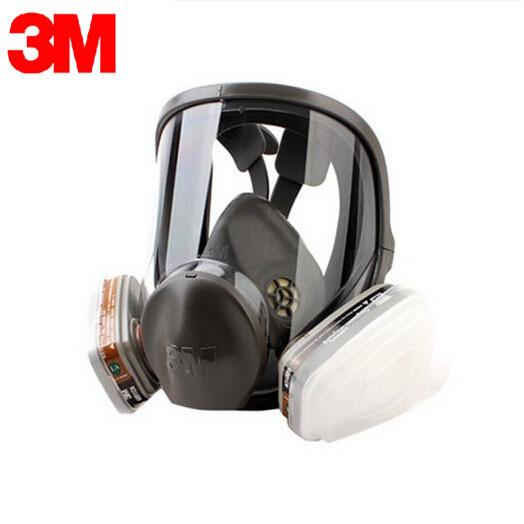 3 M 6700 + 6006 Careta Completa de Respiradores Reutilizables Máscaras de Protección de Filtro Anti-Multi Gas Ácido y Vapores Orgánicos R82404