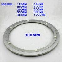 Hq H300 خارج ضياء 300 ملليمتر (12 بوصة) هادئ الصلبة الألومنيوم كسلان سوزان الدوار الدوارة صينية-في إطارات الأثاث من الأثاث على