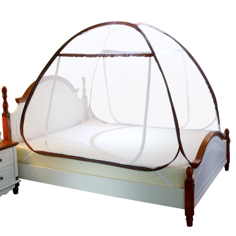 Buy new brown mosquito net three door - Bed canopies for adults ...