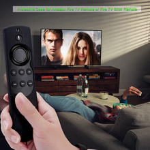 Fire Stick Remote Alexa Voice Terbaru 2ND Generasi 2017 Tongkat Case Cover Hitam(China)
