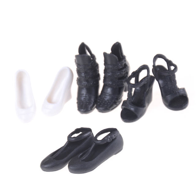 94052f6fbee2 1Pair Spring Summer Shoes High Heel Sandals For 1 6 Barbie Doll Clothes  Dress DIY Accessories Kids Gift Toys