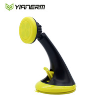 Yianerm Magnetic Suction Car Phone Holder Dashboard Windshield Adapter Bracket Sucker Stand For IPhone Samsung Mini