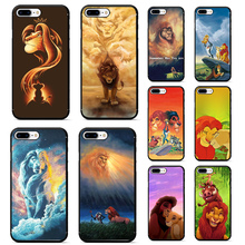 le roi lion case for iphone 7 plus soft tpu phone cover 6 6s X XR XS MAX Lion King nala simba timon coque
