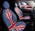 Union jack ROJO verano Fundas de Asiento de coche para el Mini Cooper Countryman Clubman R56 F55 F56 etc Accesorios Interiores
