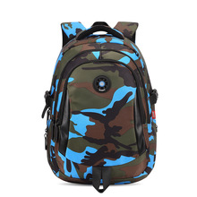 Top Brand Orthopedic Camouflage Children School Bags Backpack Mochila