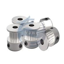 Tjbf GT2 сроки ролик 16 зубов(16 зубов) alumium Диаметр 5 мм подходит для GT2 Ремень Ширина 6 мм 3D-принтеры Запчасти аксессуар