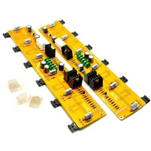 One Pair Single-Ended 2*PASS A5 HIFI  Power Amplifier Board  IRF244 IRF9610 60W+60W DC35V / with balanced input unbalanced input 1734 ie4c plc new original 75ma 4 single ended analog input modules