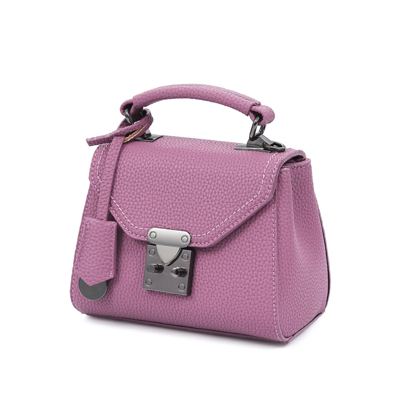 2016 New Ladies Small Crossbody Bag Litchi Stira Leather Korean Style Ladylike MINI Bag Women PU