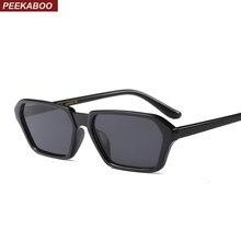 Peekaboo pequeno quadrado óculos de sol para as mulheres 2018 leopard preto  vermelho top moda óculos de sol para homens uv400 un. 97cf168cbc