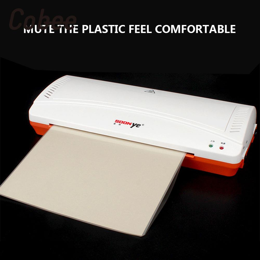YE280 Roll Laminator Hot / Cold Laminator Laminating Machine For A4 Document Premiun Professional Super Sealer With High Quality cewaal 2017 cla403l a4 photo laminator paper film document thermal hot