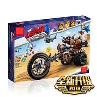 45011 New 2019 Movies Series MetalBeard's Heavy Metal Motor Trike Building Blocks Bricks child Toys Compatible With Legoings