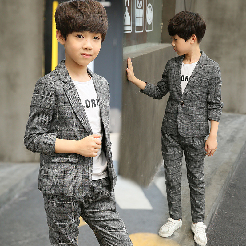 Boys Blazers Kids Boys Suits for Weddings Prom Suits Wedding Dress for Boys Children Clothing Set Blazers for Boys kids blazers jackets blue patchwork clothing set for baby clothes boys wedding dress children lounge suit terno infantil blazers