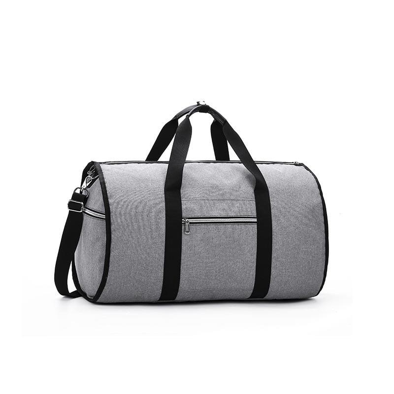 Дропшиппинг водонепроницаемый дорожный костюм вещевой мешок дорожная сумка багажные сумки бизнес большая портативная дорожная сумка для хранения - Цвет: Серый