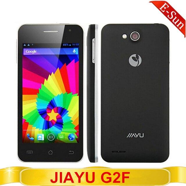 Оригинальный новый Jiayu G2F 3 г MTK6582 четырехъядерных процессоров 1 г оперативной памяти 4 г ROM 8MP камера WIFI GPS OGS гориллы стеклянный 2 android-автомобиля 4.2 смарт-мобильный телефон