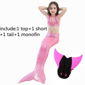 27d9fb955 2018 Ariel Swimming Mermaid Tail Cosplay Swimsuit Costume