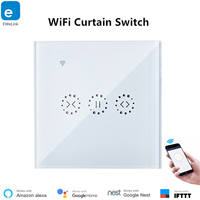 EWelink Smart WiFi Curtain Switch Remote Control Electric Curtain Voice Control Via Alexa and Google Home IFTTT Support EU Type
