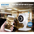ESCAM QF601 Mini Wifi IP Camera HD 720P Wireless Baby Monitor Night Vision Onvif Security Camera Two-Way Intercom Android IOS