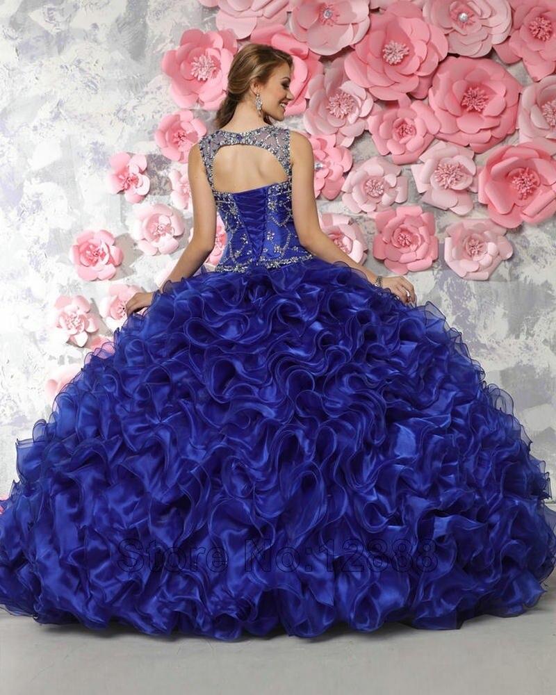 Miedoso Reales Vestidos De Azul Vestido Barato Ideas Ornamento ...