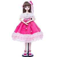 Princess Anna bjd doll 1/3 60 cm sd doll set DIY collection girl doll gift for age 8 years older