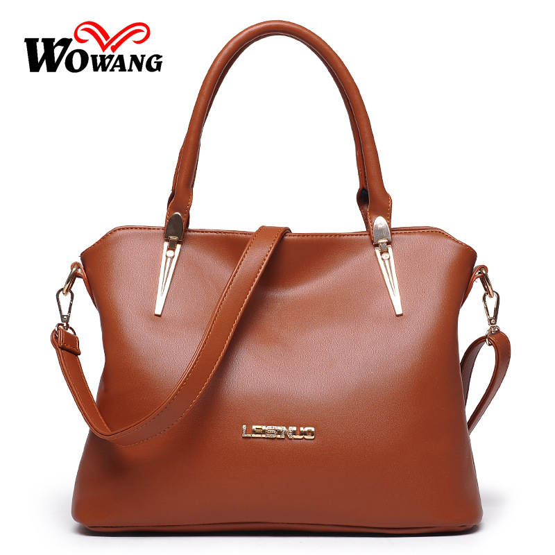 Women Bag 2016 New Women Leather Handbag Messenger Bags famous designer brand Crossbody Shoulder Bag Fashion Vintage Tote Bolsas high quality women messenger bags ladies tote shoulder bag woman brand leather handbag crossbody bag with lock designer bolsas