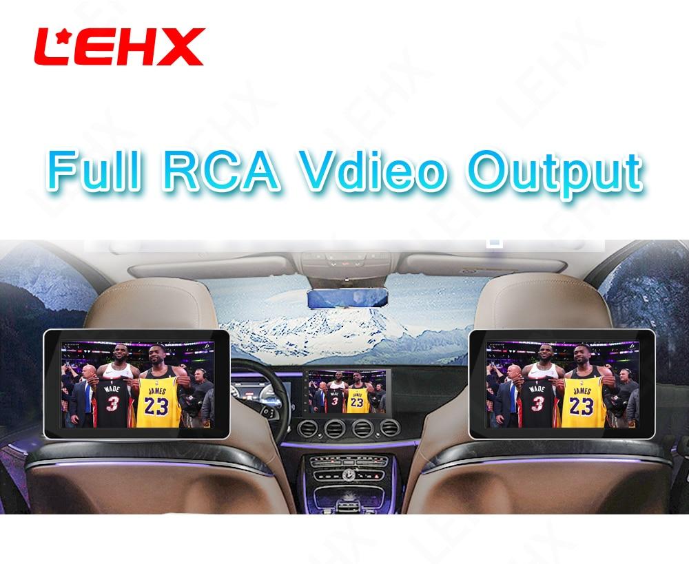 LEHX  Car android 8.0 car dvd for toyota nissan qashqai x trail-note almera juke multimedia navigation gps universal car player