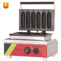 corn waffle maker/corn hot dog waffle making machine