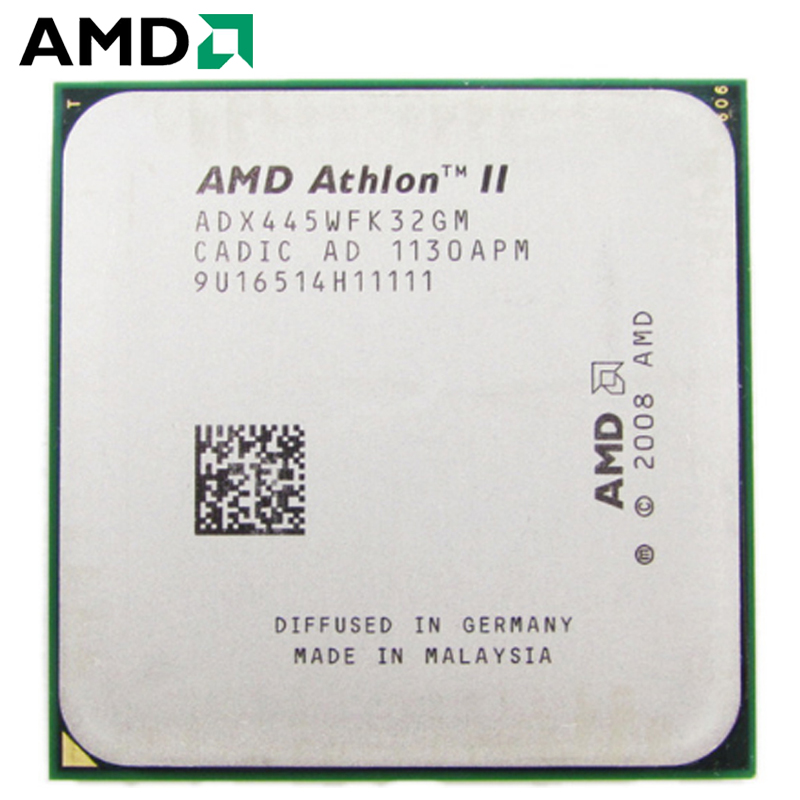 AMD Athlon II X3 445 CPU Socket AM2+ AM3 95W 3.1GHz 938-pin Three-Core Desktop Processor CPU X3 445 Socket Am2+ Am3
